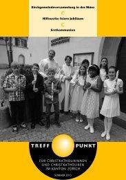 Treffpunkt lesen - Christkatholische Kirchgemeinde Zürich