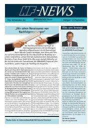 Was uns bewegt … - Hannover Finanz Austria