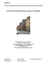 Vurdering af individuelle forbedringer og løsøre i ... - Boligvisning