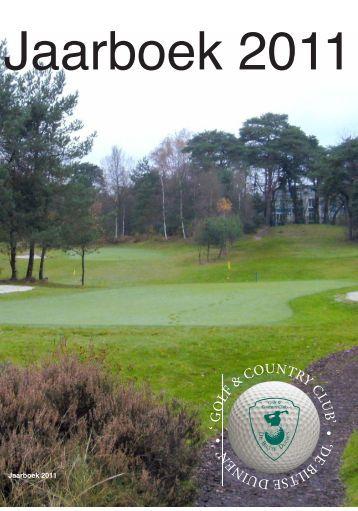 jaarboek 2011 - Golfclub De Biltse Duinen