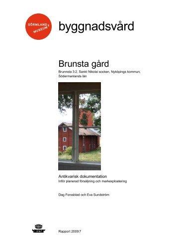 kulturhistoriska dokumentationen - Sörmlands museum