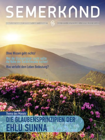 Semerkand Deutsch - Ausgabe 1