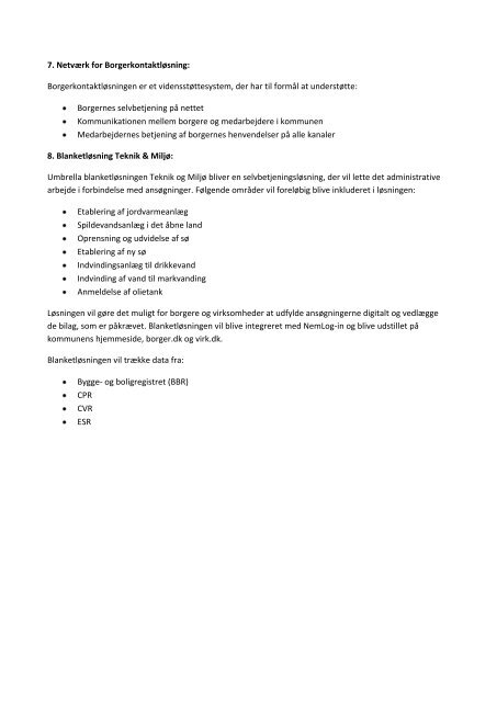 Beskrivelse af KOMBIT-projekter, hvor Guldborgsund Kommune ...