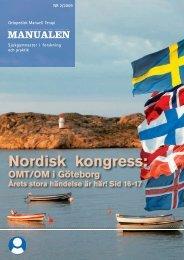 Manualen nr 2 2009 - omt sweden