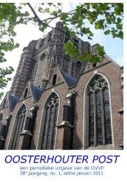OP 01 2011.pdf - Oosterhoutse Vereniging van ...