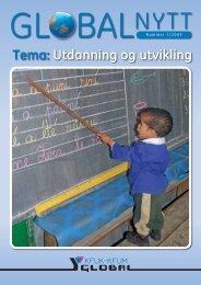 Tema: Utdanning og utvikling - KFUK-KFUM Global