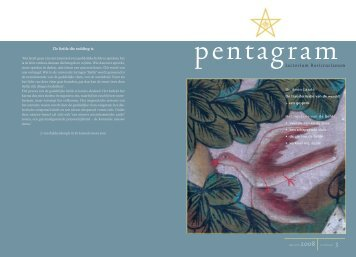 Pentagram 2008 nr. 3 - Lectorium Rosicrucianum