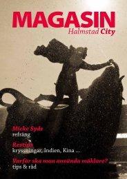 Här kan du läsa Magasin Halmstad City online - DigiFactory
