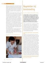 Competentie: Begeleiden bij borstvoeding - Borstvoeding.com