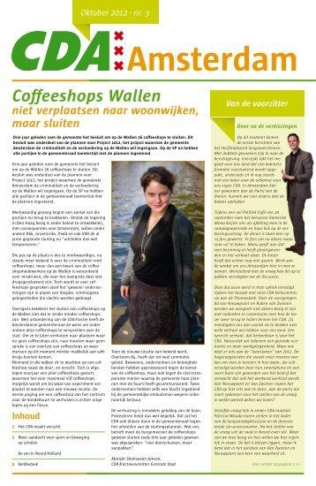 Coffeeshops Wallen - CDA