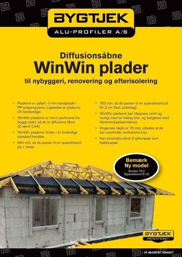 WinWin plader - Bygtjek
