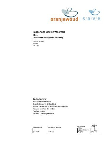 Bijlage 7 Rapportage Externe veiligheid