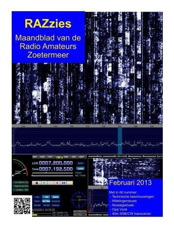 Februari - de PI4RAZ website