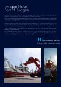 Skagen Havn - det maritime bindeled Port of Skagen - the maritime ... - Page 6