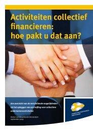 Activiteiten collectief financieren - Gemeente Haarlem