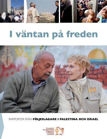 I väntan på freden (pdf) - Sveriges Kristna Råd