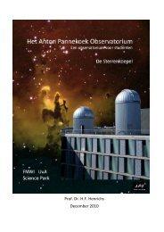 Brochure Sterrenkoepel - Universiteit van Amsterdam