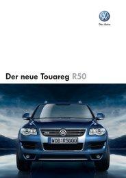Der neue Touareg R50 - Autohaus Perski ohg