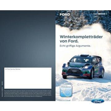 Winterkompletträder von Ford. - Autohaus Ralf Neumaier