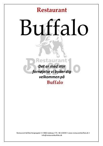 Klik her for at hente vores menu i PDF-format - Restaurant Buffalo