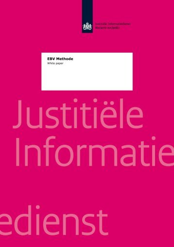 EBV Methode: White paper - Justitiële Informatiedienst