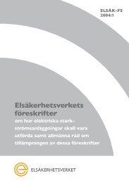 elsäk-fs 2004:1 - Elsäkerhetsverket