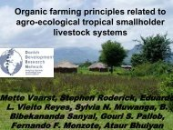 Organic farming principles related to agro-ecological tropical ... - Inra
