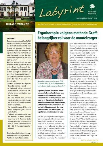 Klik hier voor aflevering nummer 1 2010 - Alzheimer Nederland