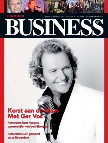 Kerst aan de Maas Met Ger Vos - Rijnmond BUSINESS