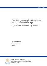Publikationen i fulltext - Lunds Tekniska Högskola