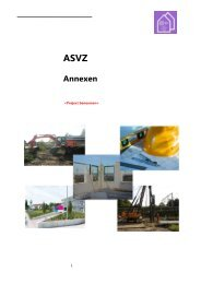 Annexen - Asvz