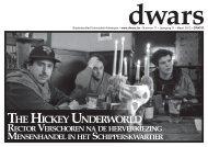 THEHICKEYUNDERWORLD - dwars - Universiteit Antwerpen
