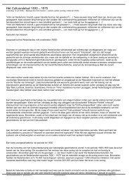 Volk van Nederland, brandt u geen bloedschuld op ... - theobakker.net