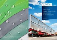 catalogue of waterproofing membranes and accessories - Fatrafol
