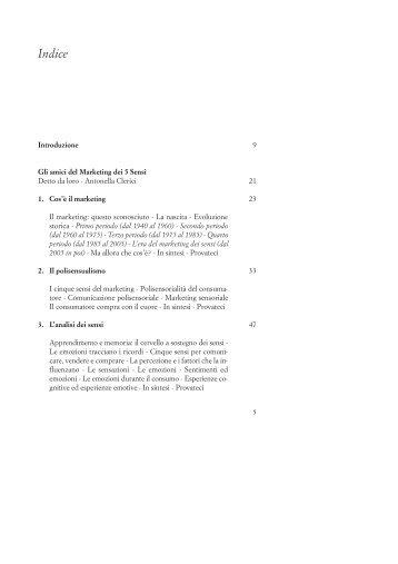 Vedi indice e pagine scelte - Fausto Lupetti Editore