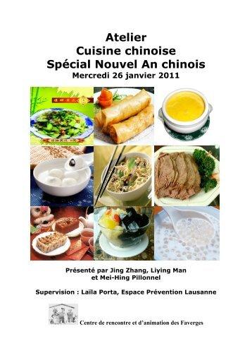 Atelier cuisine chinoise du 26.01.11 - Centre de Rencontre et d ...