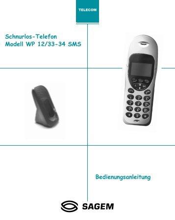 6FKQXUORV 7HOHIRQ 0RGHOO :3 606 ... - Fax-Anleitung.de
