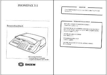 PHONEFAX 31 1 - Fax-Anleitung.de