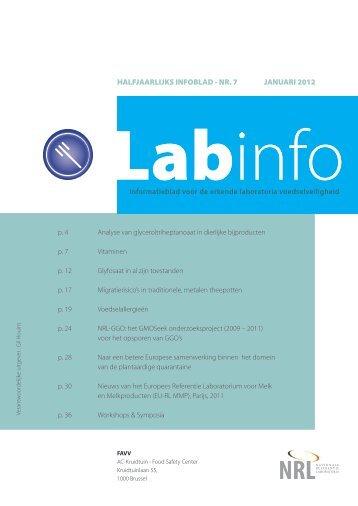 Labinfo Nr.7 - Favv
