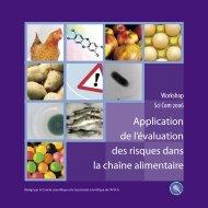 Application de l'évaluation des risques dans la chaîne alimentaire