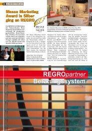 Regropartner Regropartner Beratungssystem - REGRO
