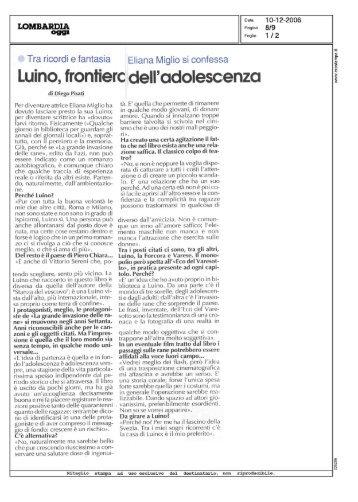 Eliana Miglio si confessa - Fazi Editore