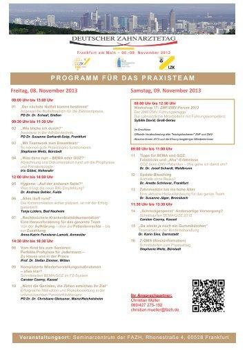 Adobe PDF document - Fortbildungsakademie Zahnmedizin Hessen ...