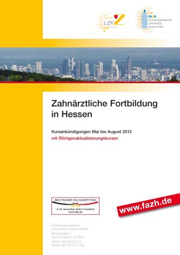 Fortbildungsakademie Zahnmedizin Hessen GmbH