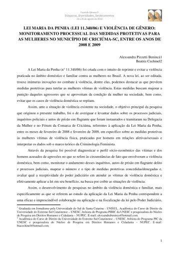 Alexsandra Pizzetti Benincá - Fazendo Gênero