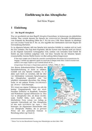 2 Das Schriftsystem des Altenglischen