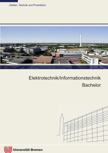 Informationsflyer - Fachbereich Physik und Elektrotechnik der ...