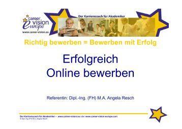 erfolgreich online bewerben pdf - Online Bewerbung Pdf