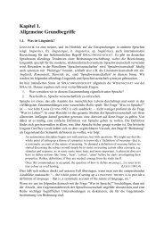 Kapitel 1. Allgemeine Grundbegriffe