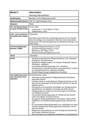 Modul 3: Intervention (application/pdf 9.7 KB)